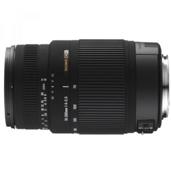 Sigma 70-300 mm F4,0-5,6 DG OS Objektiv (62 mm Filtergewinde) für Sigma Objektivbajonett-31