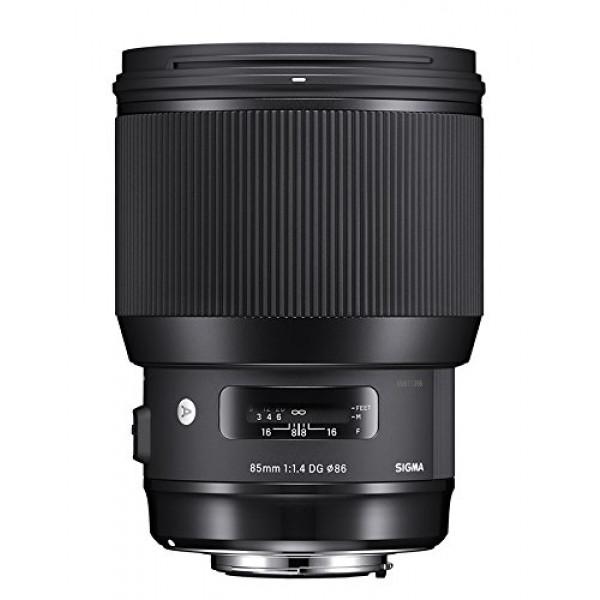 Sigma 85mm F1,4 DG HSM Art (86mm Filtergewinde) für Canon Objektivbajonett schwarz-36