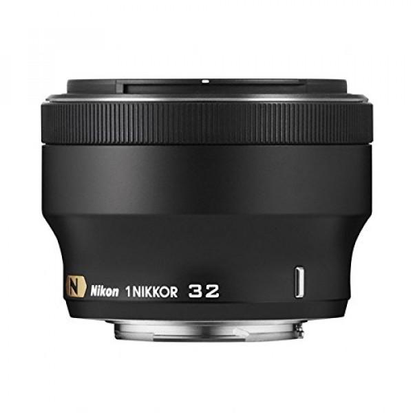 Nikon 1 Nikkor-Objektiv 32mm 1:1,2 (52mm Filtergewinde) schwarz-32
