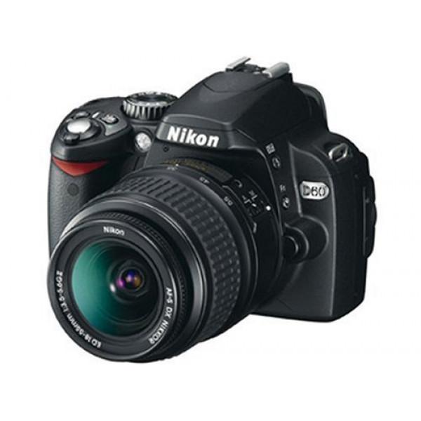 Nikon D60 SLR-Digitalkamera (10 Megapixel) Kit inkl. 18-55II 1:3,5-5,6G Objektiv-36