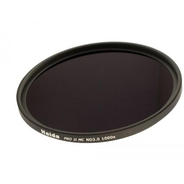 Haida PRO II Serie MC (mehrschichtvergütet) Neutral Graufilter ND1000 82mm Inkl. Cap mit Innengriff-35