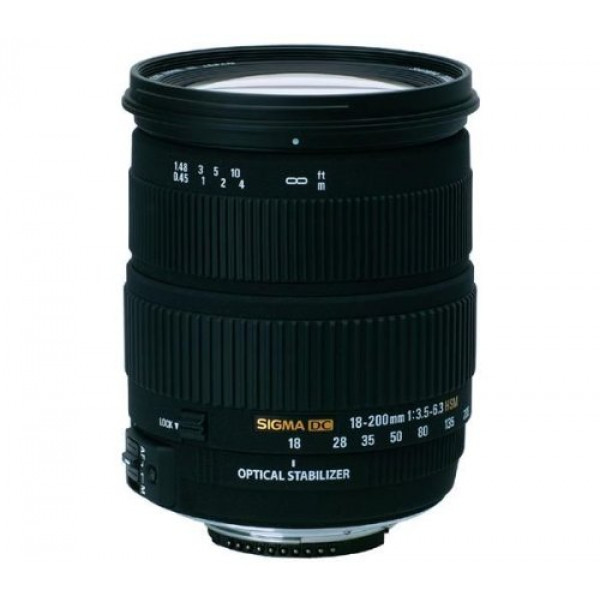 Sigma 18-200mm F3,5-6,3 DC HSM OS stabilisiertes Objektiv (72mm Filtergewinde) für Nikon-31