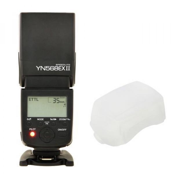 Yongnuo E-TTL Blitzgerät YN-568EX II YN568EX II mit Masterblitzfunktion bis 1/8000s für Canon-37