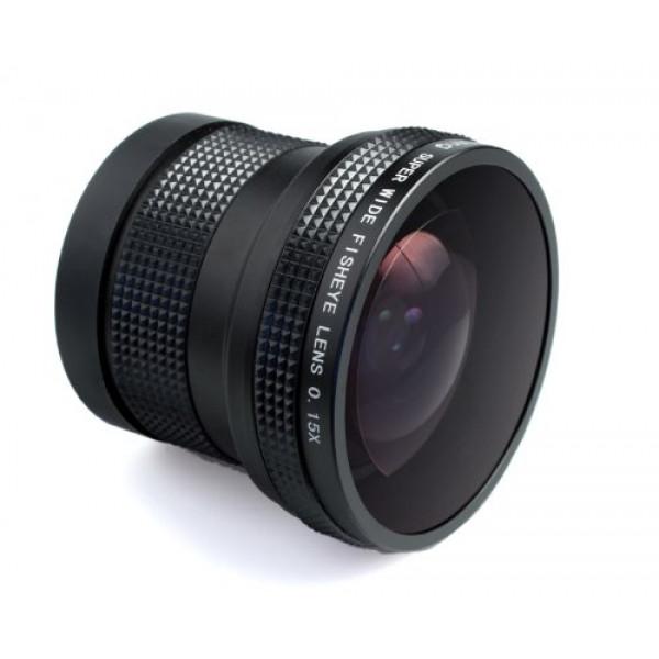 Objektiv Fisheye 0,15X für CANON EOS 1200D 1100D 1000D 700D 650D 600D 550D 500D 450D 400D 350D 300D 10D 20D 30D 40D 50D 60D 1D 5D 6D 7D-37