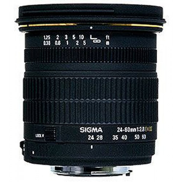 Sigma 24-60mm 2,8 EX DG AF Objektiv für Nikon D-31