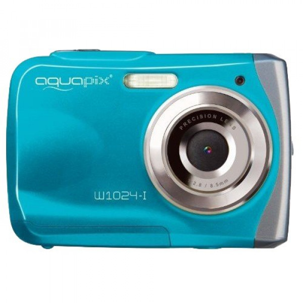 "Easypix 10012 Unterwasser Digitalkamera ""Aquapix W1024-I Splash"" in Eisblau-37"