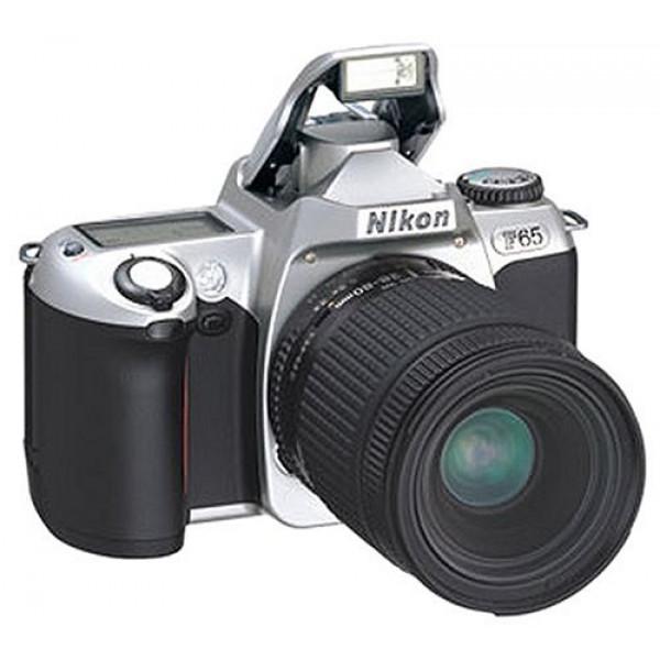 Nikon F65 Spiegelreflexkamera silber-31