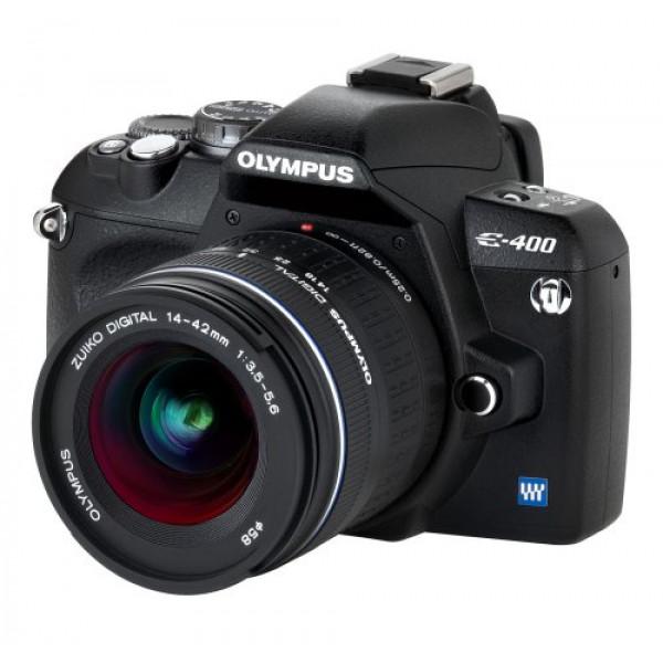 Olympus E-400 SLR-Digitalkamera (10 Megapixel) Kit inkl. Zuiko EZ-1442 14-42mm-33