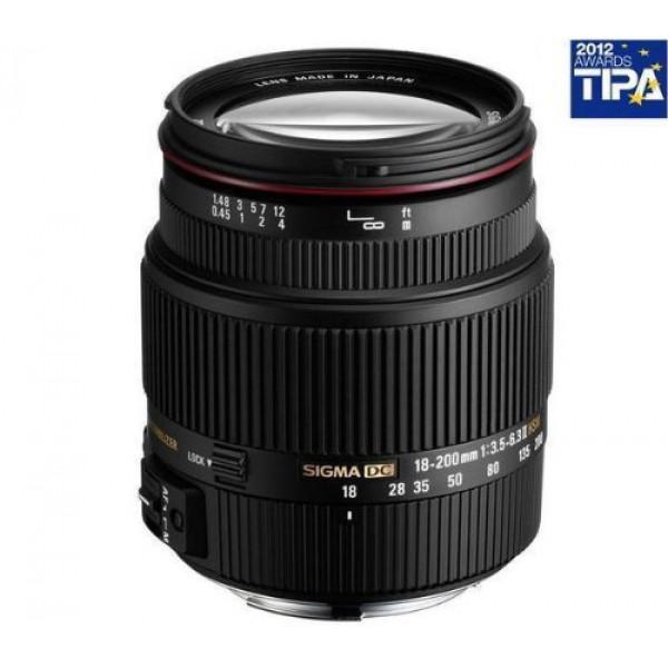 Sigma 18-200 mm F3,5-6,3 II DC OS HSM-Objektiv (62 mm Filterdurchmesser) für Canon Objektivbajonett-31