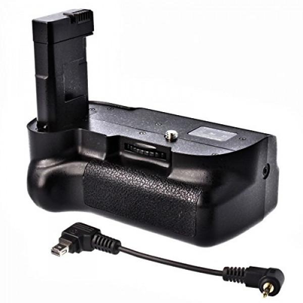 Meike Profi Batteriegriff für Nikon D5100 hochwertiger Handgriff mit Hochformatauslöser doppelte Kapazität durch 2 Akkus-39