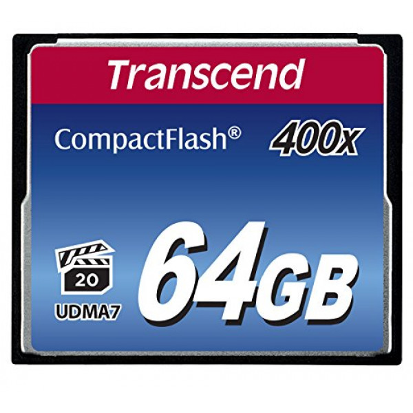 Transcend Extreme-Speed 400x 64GB Compact Flash Speicherkarte-35