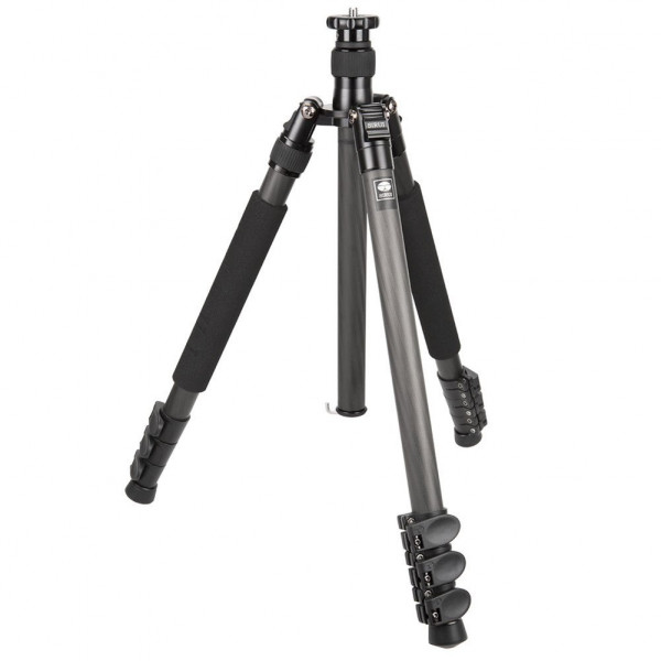 Sirui EN-2204 Easy Universal Dreibeinstativ (Carbon, Höhe: 162 cm, Gewicht: 1,52kg, Belastbarkeit: 15kg) mit Tasche und Gurt-35