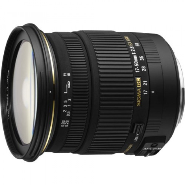 Sigma 17-50 mm F2,8 EX DC OS HSM-Objektiv (77 mm Filtergewinde) für Sony Objektivbajonett-31