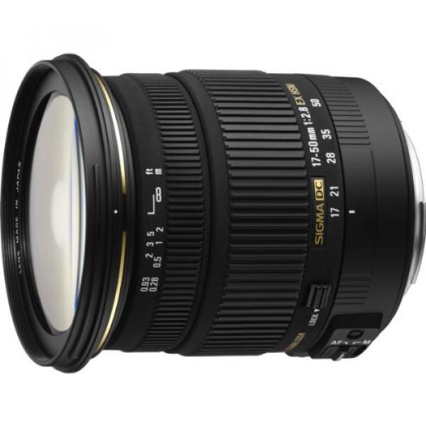 Sigma 17-50mm F2,8 EX DC OS HSM Objektiv (77mm Filtergewinde) für Pentax-31