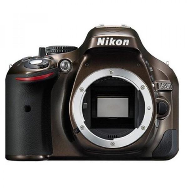 Nikon D5200 SLR-Digitalkamera (24,1 Megapixel, 7,6 cm (3 Zoll) TFT-Display, Full HD, HDMI) nur Gehäuse bronze-35