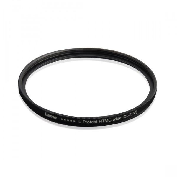 Hama UV Filter HD 82 mm Slim (Objektivschutz, 3 mm flache Metallfassung mit Frontgewinde, mehrfach vergütet HTMC, inkl. Filterbox)-316