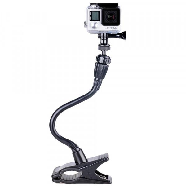 """Smatree® Verstellbare Jaws Flex Klemmhalterung mit 13,4"""" Schwanenhals-Erweiterung + Stativ + Schraube für GoPro Hero 4, Hero 3+, Hero 3, Hero 2, Hero Kameras (auch Fit für Kompaktkameras mit 1/4"""" Stativgewinde)-37"""