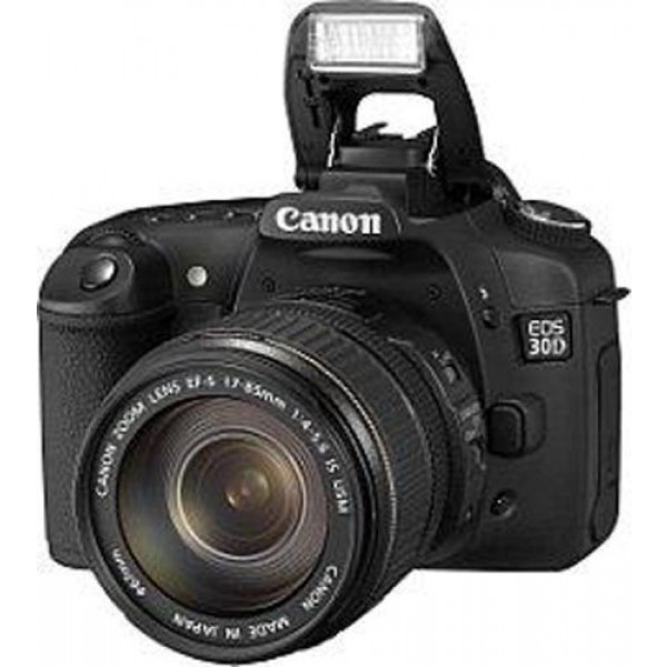 Canon EOS 30D SLR-Digitalkamera (8 Megapixel) Kit inkl. EF-S 17-85mm IS USM-33