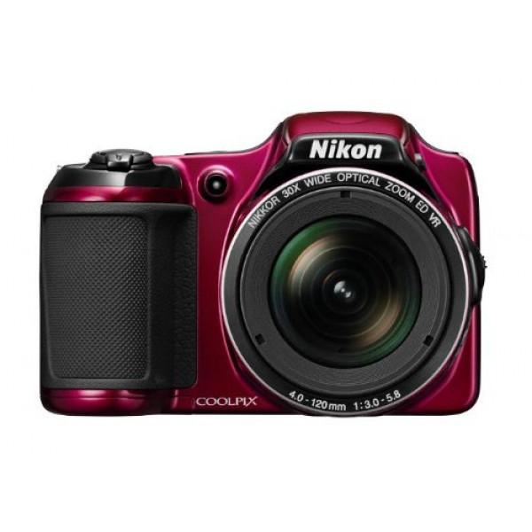 Nikon Coolpix L820 Digitalkamera (16 Megapixel, 30-fach opt. Zoom, 7,6 cm (2,7 Zoll) LCD-Monitor, Bildstabilisator) rot-38
