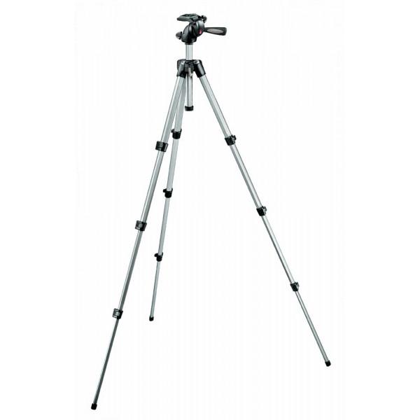 Manfrotto MK394-H Foto-Video Stativ-Kit Maxi mit integriertem 3-Wege-Neiger und Schnellwechseleinrichtung-31