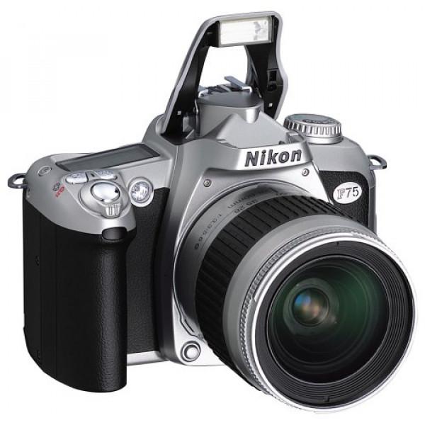 Nikon F75 Spiegelreflexkamera silber-33