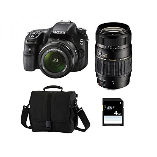 SONY Alpha 58 + 18-55 SAM + TAMRON 70-300 + Sac + Carte SD 4 Go-33