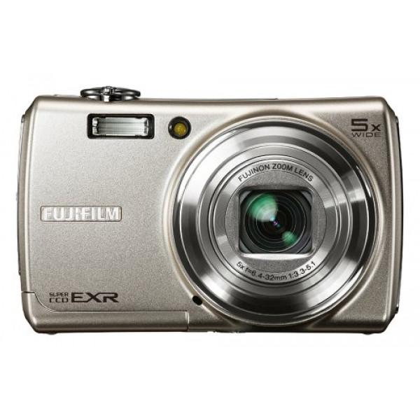 Fujifilm FinePix F200EXR Digitalkamera (12 Megapixel, 5fach opt. Zoom, 3 Display, Bildstabilisator) silber-33