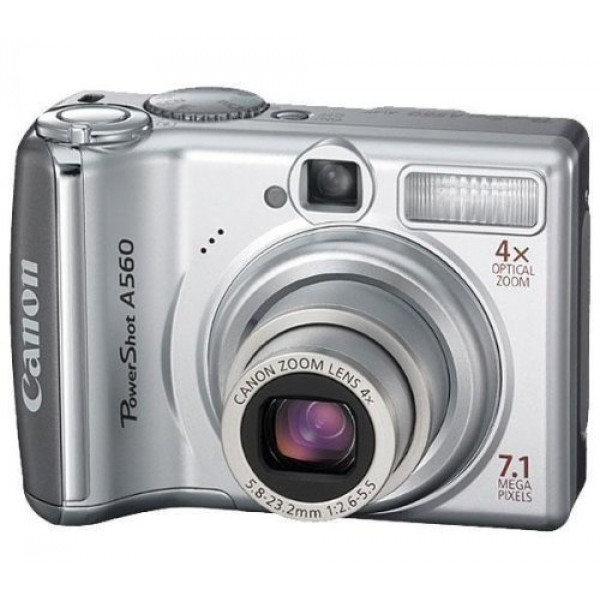 Canon PowerShot A560 Digitalkamera (7 Megapixel, 4-fach opt. Zoom, 6,4 cm (2,5 Zoll) Display) silber-35