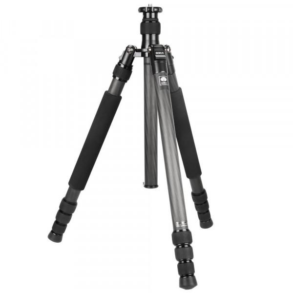 SIRUI N-1204X Universal Drei-/Einbeinstativ (Carbon, Höhe: 160,7cm, Gewicht: 1,12kg, Belastbarkeit: 12kg) mit Tasche und Gurt-35