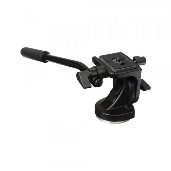 Manfrotto 700RC2 Mini Fluid Video-Kopf mit Schnellwechselplatte 200PL-33