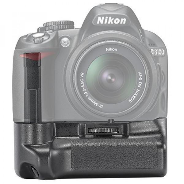 Neewer® Professional Vertikaler Batteriegriff Akkugriff Battery Grip wie der Nikon BG-2F für Nikon D3100/D3200/D3300 Digitalkamera, kompatibel mit Akku EN-EL14-34
