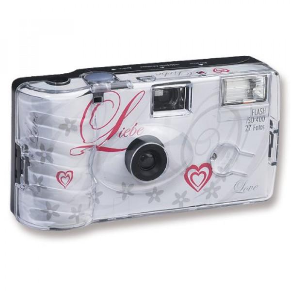 20x Hochzeitskamera Einwegkamera Liebe weiss-32