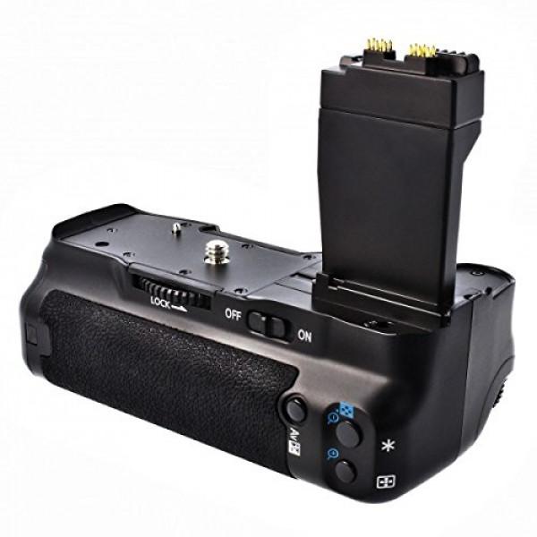 Meike Batteriegriff für Canon EOS 550D, 600D und 650D wie der BG-E8, als BG-E8 Ersatz in Originalqualität für 1-2 Stück LP-E8 oder 6 AA Akkus-39