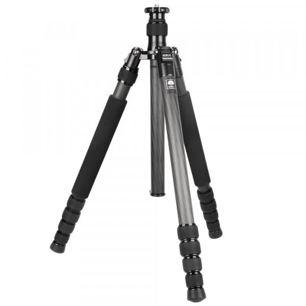 SIRUI N-3205X Master Drei-/Einbeinstativ (Carbon, Höhe: 162cm, Gewicht: 1,76kg, Belastbarkeit: 15kg) mit Tasche und Gurt-35