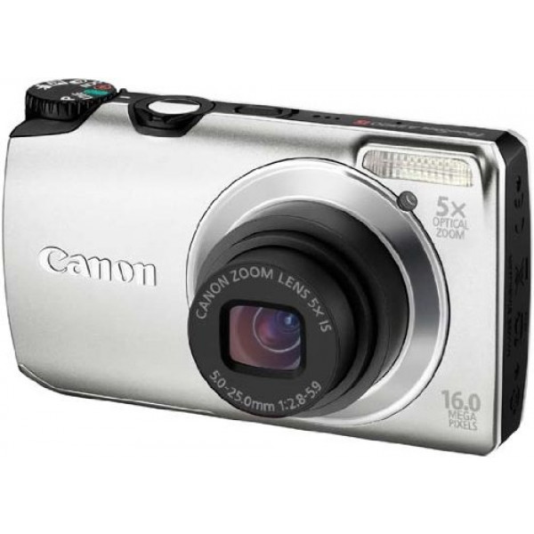 Canon PowerShot A3300 IS Digitalkamera (16 Megapixel, 5-fach opt, Zoom, 7,6 cm (3 Zoll) Display, bildstabilisiert) silber-34
