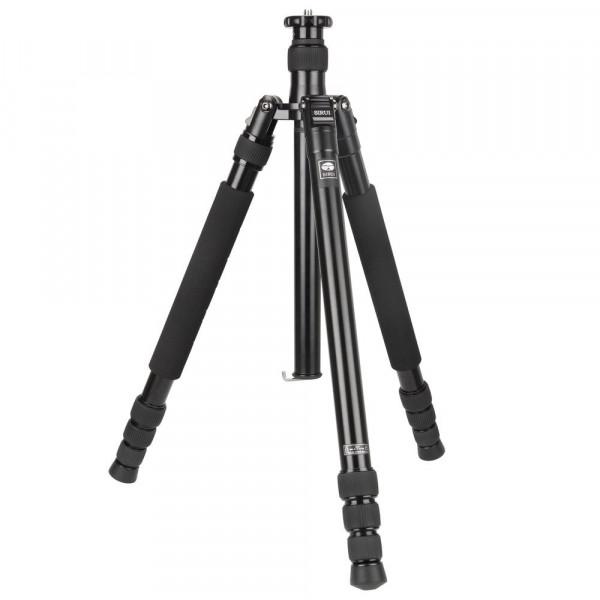 SIRUI N-2004X Universal Drei-/Einbeinstativ (Alu, Höhe: 160,5cm, Gewicht: 1,8kg, Belastbarkeit: 15kg) mit Tasche und Gurt-35