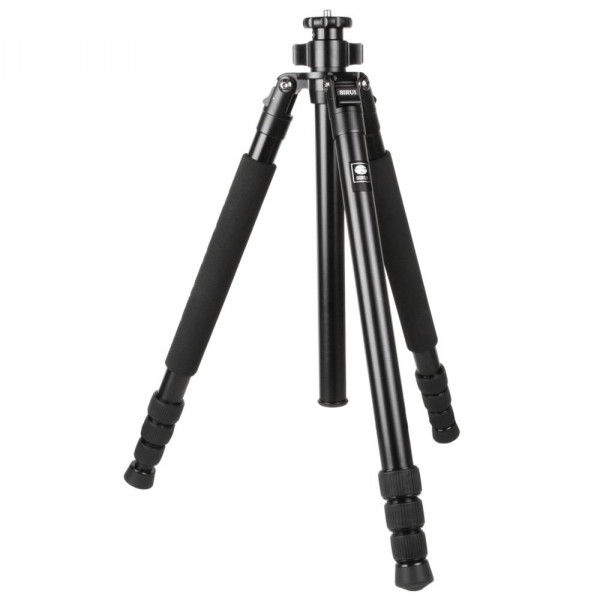 SIRUI R-1004 Reporter Studio-Dreibeinstativ (Alu, Höhe: 159,5cm, Gewicht: 1,26kg, Belastbarkeit: 10kg) mit Tasche und Gurt-35