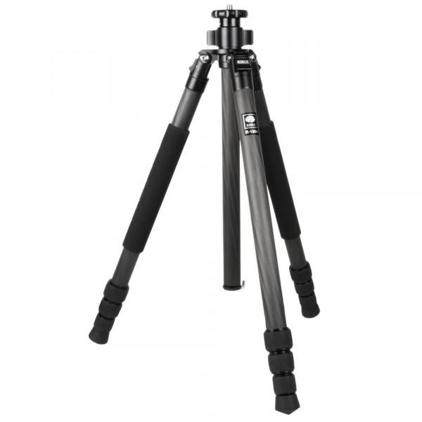 SIRUI R-1204 Reporter Studio-Dreibeinstativ (Carbon, Höhe: 159,5cm, Gewicht: 0,95kg, Belastbarkeit: 10kg) mit Tasche und Gurt-35
