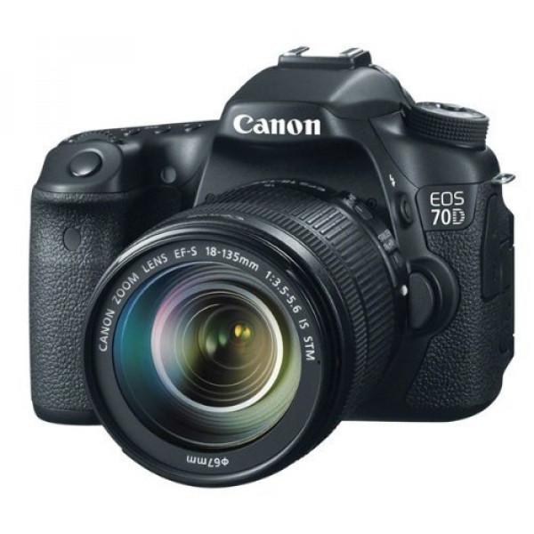 Canon EOS 70D SLR-Digitalkamera (20,2 Megapixel CMOS-APS-C Sensor, 7,7 cm (3 Zoll) TFT-Display, 0,95-fach Zoom, mini-HDMI, 3,5mm Klinke) Kit inkl. EF-S 18-135mm Objektiv schwarz-31