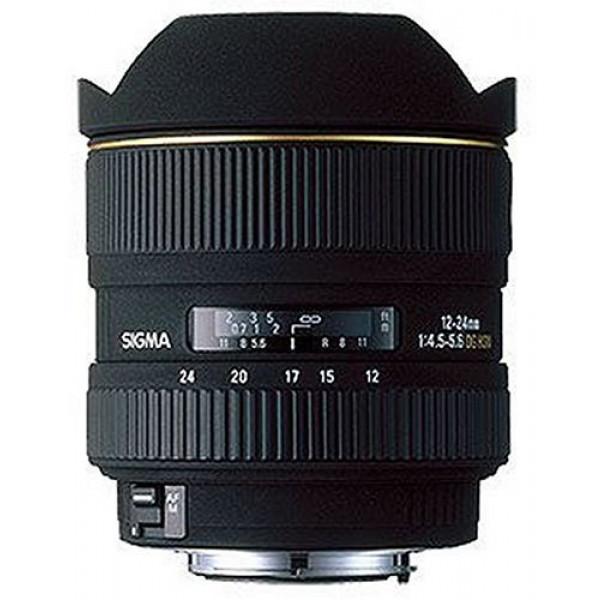 Sigma 12-24 mm F4,5-5,6 EX DG HSM-Objektiv (Gelatinefilter) für Nikon D-31