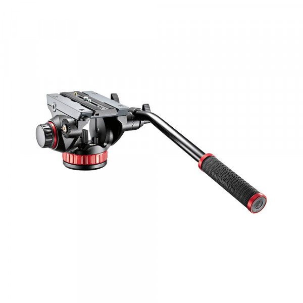 Manfrotto MVH502AH Pro Fluid Video Neiger (Inkl. flacher Basis und 504PL)-38
