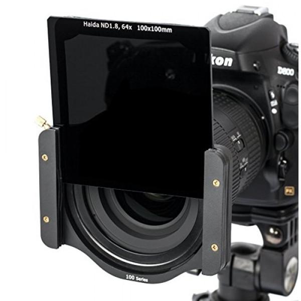 Haida Optical Neutral Graufilter 100 mm x 100 mm (ND 1.8) 64x Kompatibel mit Cokin Z-Pro Serie-32