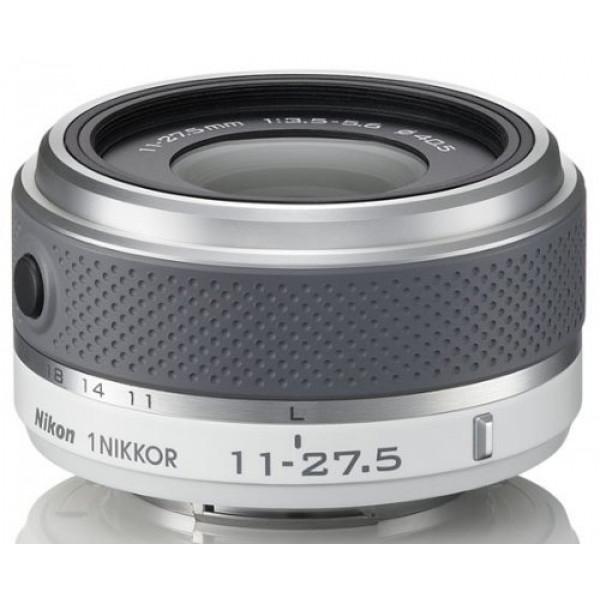 Nikon 1 Nikkor 11-27,5 mm 1:3,5-5,6 Objektiv weiß-33