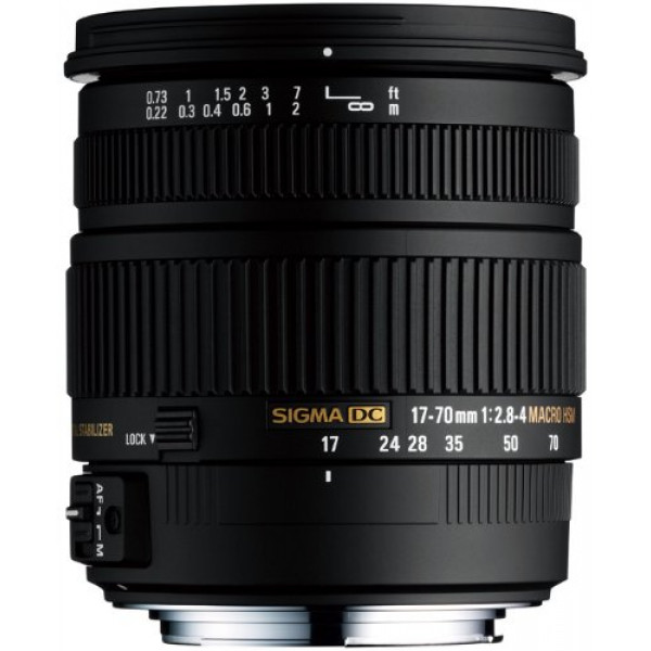 Sigma 17-70 mm F2,8-4,0 DC Makro HSM-Objektiv (72 mm Filtergewinde) für Sony Objektivbajonett-31