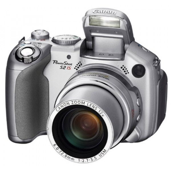 Canon PowerShot S2 is Digitalkamera (5 Megapixel, 12fach opt. Zoom) mit Bildstabilisator-35