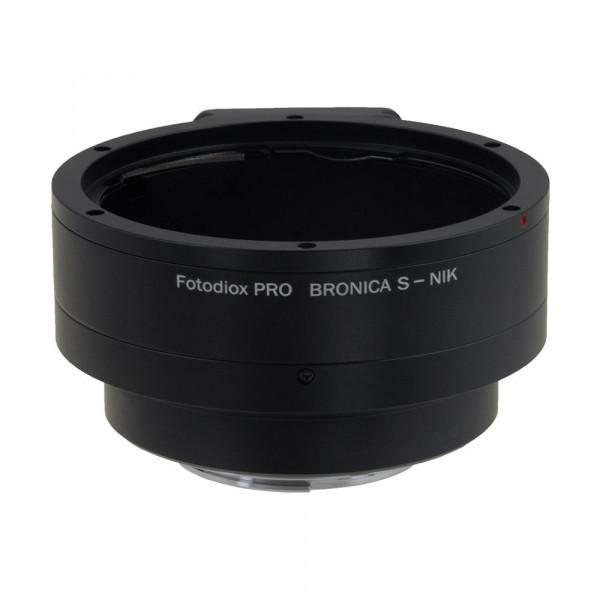Fotodiox BronS-Nik-P Pro Lens Mount Adapter für Bronica S auf Nikon F Kamera System-35