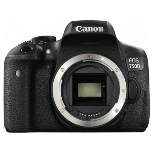 Canon EOS 750D SLR-Digitalkamera (24 Megapixel, APS-C CMOS-Sensor, WiFi, NFC, Full-HD) schwarz-37