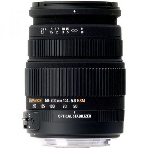 Sigma 50-200 mm F4,0-5,6 DC OS HSM-Objektiv (55 m Filtergewinde) für Pentax Objektivbajonett-31