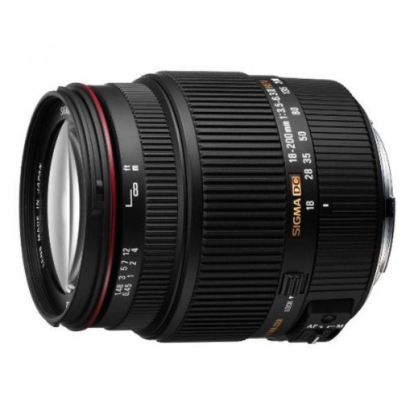 Sigma 18-200 mm F3,5-6,3 II DC HSM-Objektiv (62 mm Filterdurchmesser) für Sony Objektivbajonett-33