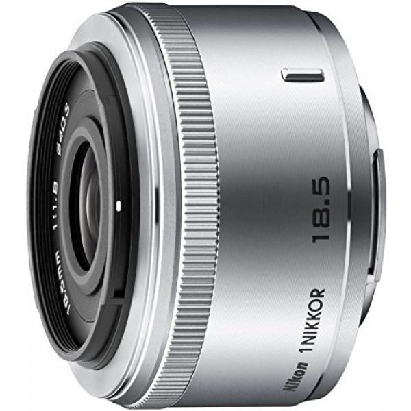 Nikon 1 Nikkor 18,5mm 1:1,8 Objektiv silber-32